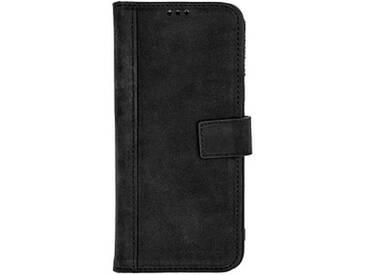 SCUTES DELUXE Booklet Case Handy-Hülle für SAMSUNG Galaxy S8 schwarz