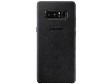 SAMSUNG Alcantara Cover Handy-Hülle für SAMSUNG Note 8 schwarz