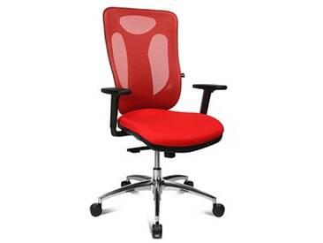 Topstar Sitness Net Pro 100 Bürostuhl rot