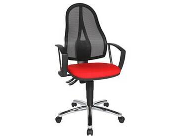 Topstar Point 60 Netz Plus Bürostuhl rot
