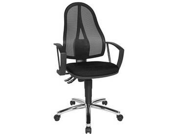 Topstar Point 60 Netz Plus Bürostuhl schwarz