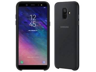 SAMSUNG Dual Layer Cover Handy-Cover für SAMSUNG Galaxy A6 (2018) schwarz
