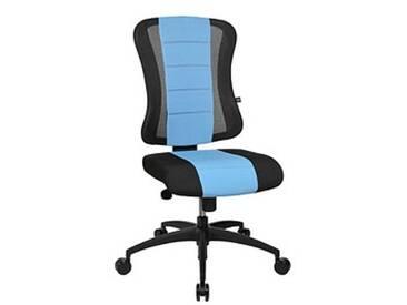 Topstar Soft Point Syncro Bürostuhl blau