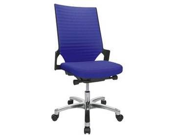Topstar Autosynchron®-2 Alu Bürostuhl blau