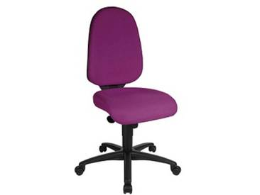 Topstar Syncro Pro 5 Bürostuhl lila