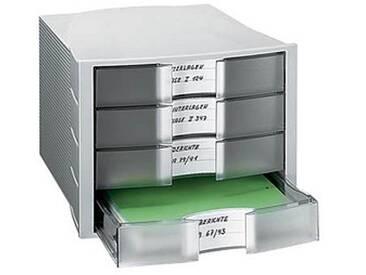HAN Schubladenbox Impuls transparent mit 4 Schubladen