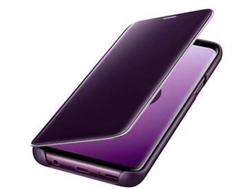 SAMSUNG Clear View Standing Cover Handy-Hülle für SAMSUNG Galaxy S9 purple