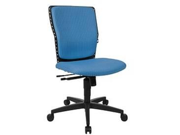 Topstar High Point Bürostuhl blau