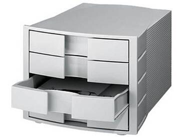 HAN Schubladenbox Impuls grau mit 4 Schubladen