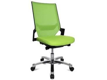 Topstar Autosynchron®-1 Alu Bürostuhl grün