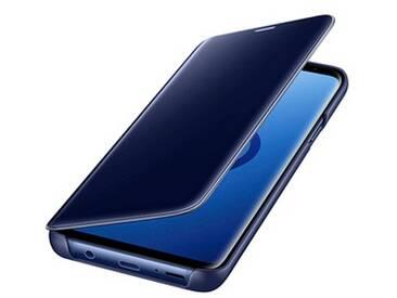 SAMSUNG Clear View Standing Cover Handy-Hülle für SAMSUNG Galaxy S9+ blau