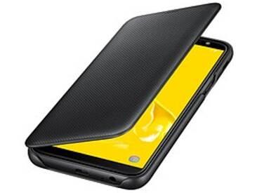 SAMSUNG Wallet Cover Handy-Hülle für SAMSUNG Galaxy J6 schwarz
