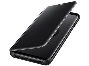 SAMSUNG Clear View Standing Cover Handy-Hülle für SAMSUNG Galaxy S9+ schwarz