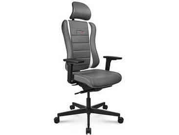 Topstar Sitness RS Pro Gaming Stuhl grau Kunstleder
