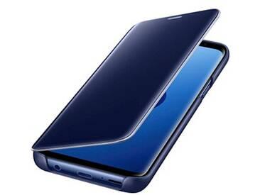 SAMSUNG Clear View Standing Cover Handy-Hülle für SAMSUNG Galaxy S9 blau