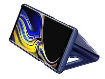 SAMSUNG Clear View Standing Cover Handy-Hülle für SAMSUNG Galaxy Note 9 blau