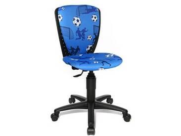 Topstar High S'cool® Kinderdrehstuhl blau