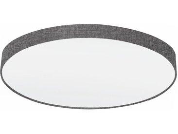 EGLO PASTERI Deckenleuchte Leinen grau, weiss 980mm 7xE27