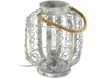 Tischlampe Vintage EGLO HAGLEY creme-gold E27