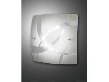 LED Deckenlampe weiß Fabas Luce Kymi 300mm 1100lm 4000K