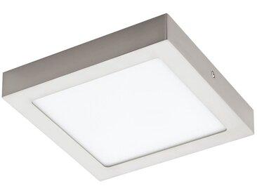 EGLO FUEVA 1 LED Aufbauleuchte 225x225, 1-flg., nickel-matt