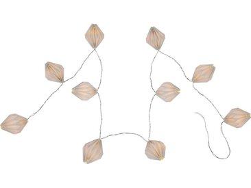 Globo VENUTO Lichterkette Weiß, 10xLED