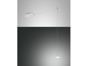 LED Hängelampe weiß Fabas Luce Susanna 720lm 1-flg. dimmbar