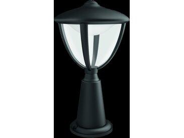 Philips myGarden LED Sockelleuchte Robin 1flg. 154723016, 430lm, schwarz