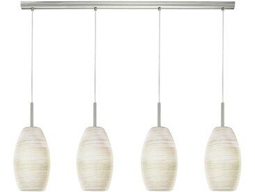 EGLO BATISTA 3 LED Hängeleuchte, 4-flg. E27 nickel-matt