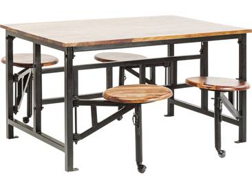 Tisch+Hocker Space 5-tlg.