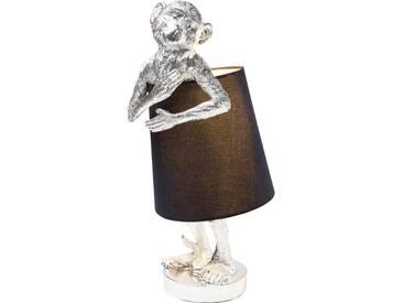 Tischleuchte Animal Monkey Silber Schwarz