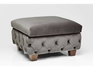 Hocker My Desire Samt Khaki