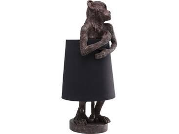 Tischleuchte Animal Monkey Braun Schwarz