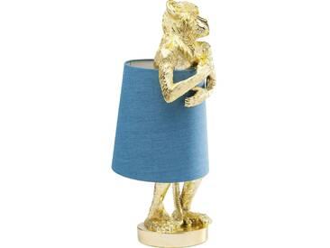 Tischleuchte Animal Monkey Gold Blau
