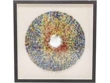 Dekorahmen Colour Explosion 120x120cm