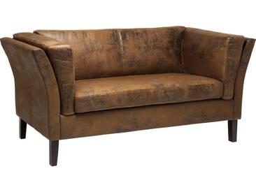 Sofa Canapee 2-Sitzer Vintage Eco