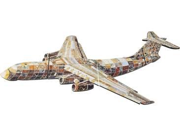 Wandschmuck Crazy Airplane