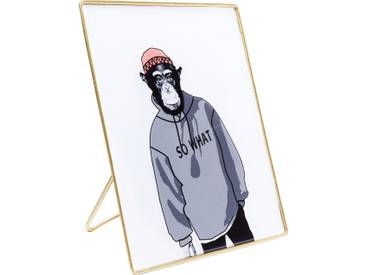 Deko Bild Gangster Monkey