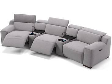 Stoff Kino Sofa LORETO Relax Couch