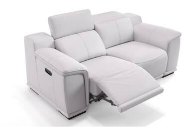 Ledersofa MONTEFINO 2-Sitzer Sofagarnitur