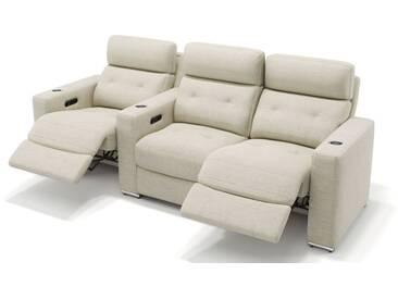 Stoff Kino 3-Sitzer Sofa MATERA Relaxcouch Stoffbezug