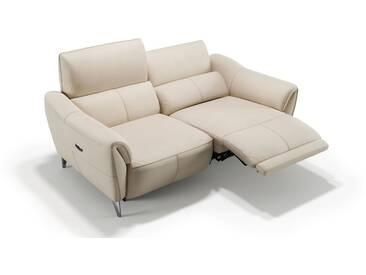 Ledercouch MALITO 2-Sitzer Relaxsofa