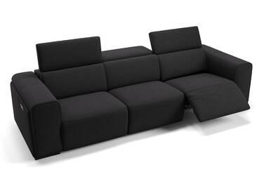 Stoff Couch IMPERIA 3-Sitzer XXL Sofa