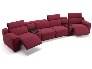 Stoff Heimkino Sofa LORETO Kino Sessel