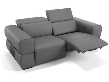 Leder Couch 2-Sitzer MONACO Leder Sofa