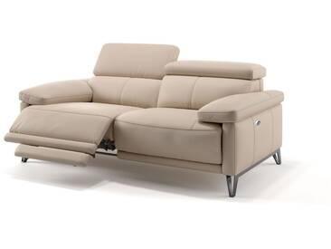 2-Sitzer Couch CELANO Ledersofa