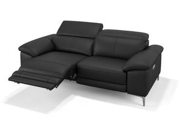 Ledersofa SIENA 2er Designer Sofa in Leder
