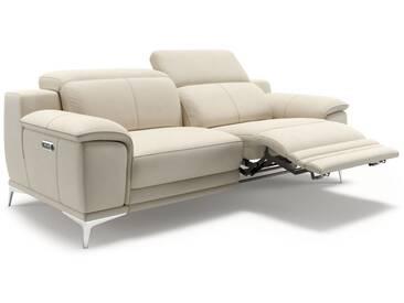 Ledersofa NOVOLI 2er Designer Sofa in Leder