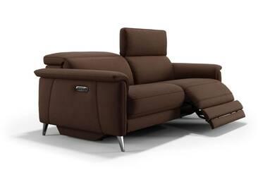 Stoff Sofagarnitur BARLETTA 3-Sitzer Couch