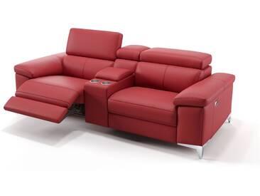 Ledersofa XXL 2-Sitzer Kinosofa VENOSA Couch
